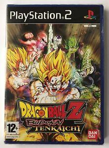 PS2 Dragonball Z Budokai Tenkaichi (2005), UK Pal, New & Factory Sealed, Flawed