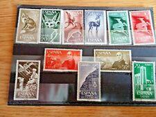 Lote 1. 11 sellos de SAHARA nuevos sin charnela goma original ¡¡¡OCASION!!!
