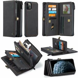 For Iphone 12 Pro Max 11 Xr Xs Max 6s 7 8 Plus Phone case Luxury Leather Wallet