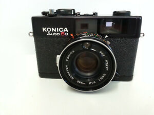 Konica Auto S3 camera - NEVER USED!!!!