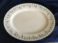 Royal Albert Memory Lane Oval Serving Platter Made England EUC