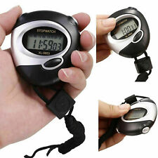 Portable Digital Handheld Sports Stopwatch Stop Watch Time Alarm Counter Timer