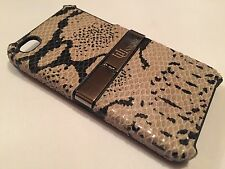 Apple iPhone 4 4S COVER CASE PROTETTIVA Hard Back Pelle Di Serpente Snake Skin Stand