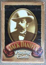 Jack Daniels 6633 Hoyle Brand Poker Size Playing Cards Whiskey 2003 - Sealed