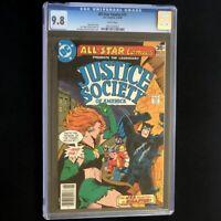 All-Star Comics #72 (DC 1978) 💥 CGC 9.8 💥 Justice Society JSA Huntress Comic