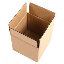 "100 Mailing Packing Shipping Box Cardboard Paper Corrugated Carton 6""x6""x6"" B66"