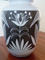 XXL Keramik Vase SCHLOSSBERG 113 / 40 Floorvase Bodenvase Fat Lava Era Art deco