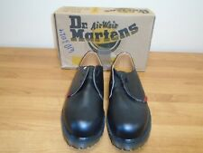 Dr Martens Air Wair Royal Mail Black Leather Lace-Up Shoes Size UK 9 BNIB