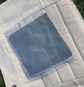 Brand New Reiss Pocket Square. Illinois - Plain Linen.  Colour - Fern