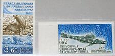Taaf fsat 1991 Maury 162-63 274-75 u animales d Antártida sea lions fish pescado mnh