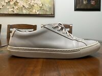 Common Projects Original Achilles Low Grey Gray Leather Sneakers Men's 43 US 10