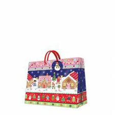 CHRISTMAS Printed Small Horizontal Paper Bag MR. GINGER'S HOUSE