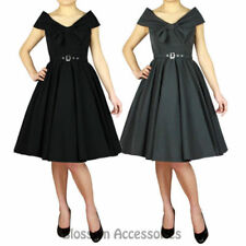 Unbranded Polyester/Spandex Dresses for Women with Bows