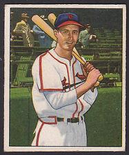 1950 Bowman #180 Harry the Hat Walker St. Louis Cardinals baseball card