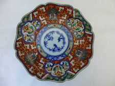 Antique,Meiji,Japanese, Imari,Hand Painted,Petalloid Small Dish