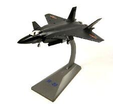 Chinese Air Force PLAAF J-20 Combat Fighter 1/100 Die Cast Metal