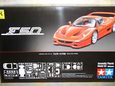 Tamiya 1/24 Ferrari F50 Red Version Model Car Kit #24296