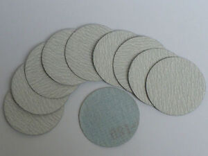 """Sanding Discs 2"""" / 50mm (Pack of 10) Hook and Loop. All grit sizes"""