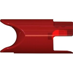 TenPoint Alpha-Nock Molded Crossbow Nocks Green/Red/White/Metal - 6/Pack