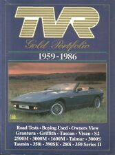 TVR GRANTURA GRIFFITH TUSCAN VIXEN TAIMAR TASMIN 3000M 1959-1986 ROAD TESTS BOOK