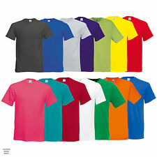 Mens Fruit of the Loom Original Short Sleeve T Shirt Top Cotton Casual SS048
