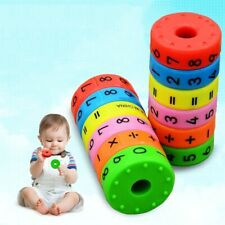 Educational Montessori Math Toys Magnetic Children Kids Preschool Learning Count
