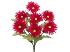 """Four 19"""" Artificial Gerbera Daisy Silk Flower Plants Bt"""