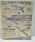 "1960 American Junior "" FIREBAT U-CONTROL"" single sided Dealer Sales flyer"