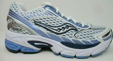 SAUCONY WOMEN'S PROGRID RIDE 2 WHITE/SIL/BLUE RUNNING / ATHLETIC SHOES SIZE: 5