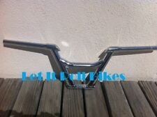 BICYCLE FREE STYLE HANDLEBAR CHROME 22.2MM BMX FIXIE MTB LOWRIDER CRUISER CYCLIN