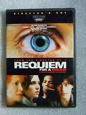Like New Requiem for a Dream Ws & Ff same Dvd Jared Leto Jennifer Hott Connelly