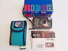Ricoh FF-9SD Limited See Thru 35mm Film Camera, Manual, Box,Case- Nice !