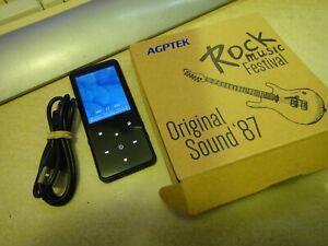 AGPTEK MP3 8GB original sound 87 BUEN ESTADO EN CAJA