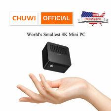 CHUWI LarkBox Mini PC 4K Tiniest Windows 10 Desktop Intel J4115 Computer 6+128GB