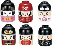 New BENTO Lunch Box  KOKESHI MAIKO SAMURAI MOMOTARO Microwave OK 6 types Japan
