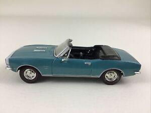 Ertl Die Cast Metal Cars 1:43 Classic Muscle 1967 Chevrolet Camaro Vehicle Blue