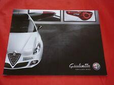 """ALFA ROMEO Giulietta 940 """"Collezione"""" Sondermodell Prospekt Brochure von 2015"""