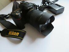 NIKON D90 DSLR +Nikkor 18-105 Lens VR KIT+Charger PRISTINE CONDITION HARDLY USED