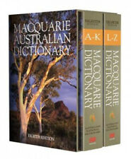 Macquarie Dictionary Eighth Edition by Macquarie Dictionary.