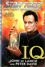 I, Q by John De Lancie, Peter David (Hardback, 1999)