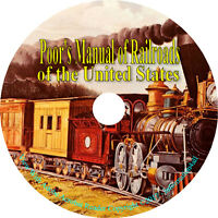 22 Vintage Books on DVD, Poor's Manual of Railroads of the United States