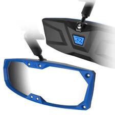 "Seizmik Halo-R Rearview Mirror Blue Bezel 1.5-1.625"" - Pioneer 500 700 YXZ1000R"