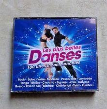 """CD AUDIO MUSIQUE / VARIOUS """"LES PLUS BELLES DANSES"""" COFFRET 4XCD COMPILATIONS"""