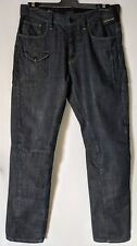 "MENS JEANS G-STAR RAW 3301 STRAIGHT LEG COTTON SIZE 33"" LEG 34"" FREE POSTAGE"