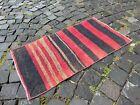 Turkish small rug, Handmade wool rug, Vintage rug, Doormat | 1,6 x 2,9 ft