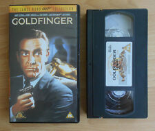 The James Bond 007 Collection (1999) - Goldfinger - VHS - PAL - Mint Condition