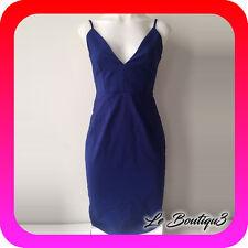 PILGRIM Blue Midi Dress Size 8 BNWT ( 13 E )