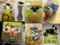 Shaun the Sheep Mcdonalds 2015 Toy Various New in Bag