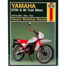 Yamaha DT50 DT80 Trail Bikes 1978-95 Haynes Workshop Manual