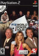 World Poker Tour PS2 Playstation 2 Game Complete